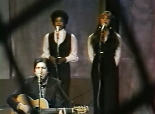 Leonard Cohen, Cheryl Barnes, & June 1976: French TV