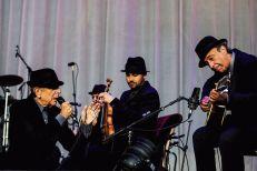 Leonard Cohen, Mitch Watkins, Alex Bublitchi, Javier Mas