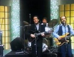 Leonard Cohen, Richard Crooks (drums), John Crowder (bass, vocals)