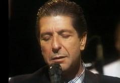 Leonard Cohen (eyes closed)