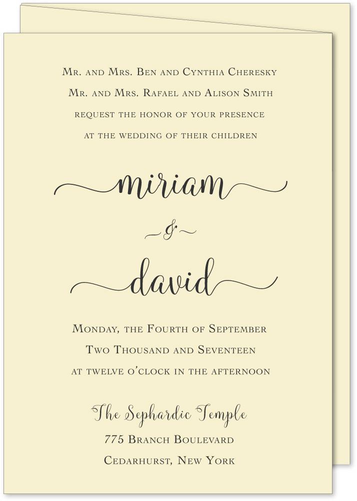 1 wedding invitations | Invitationjdi.co
