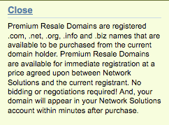 Premium Resale Domains