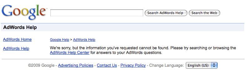 Adwords Business Pages for Mobile Help