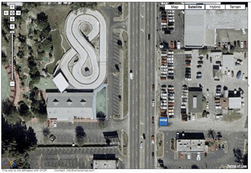 Store Locator Satellite View