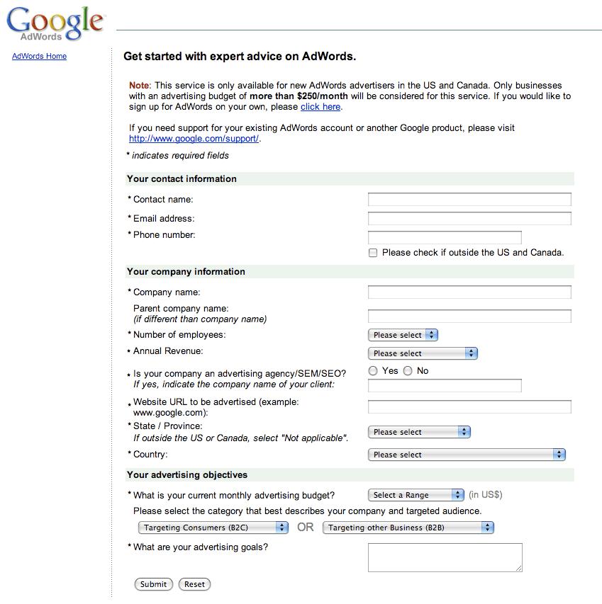 Google Adwords Expert Advice
