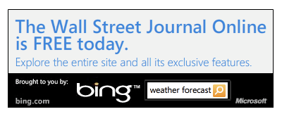 Bing Free Wall Street Journal