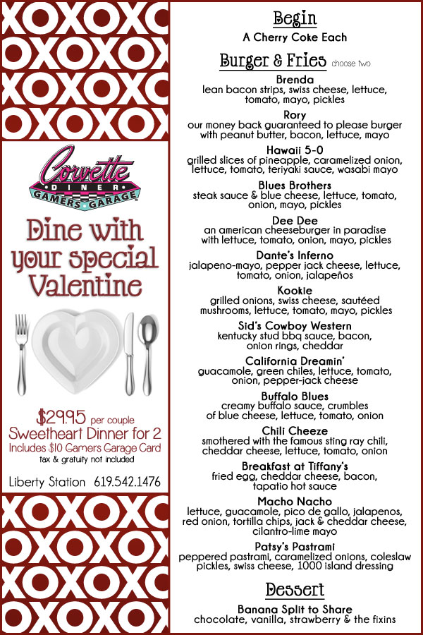 Romantic Meals For Valentines Day NBC 7 San Diego