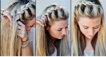 Coiffure Cheveux Mi Long Faire Soi Meme Ivory Hairstyle