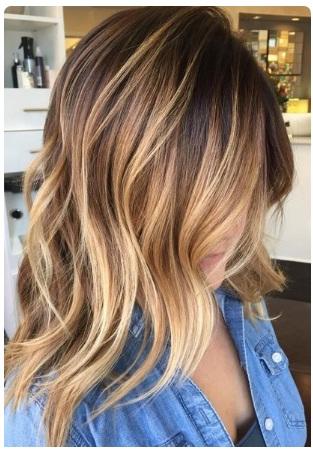 Ombr Hair Cheveux Mi Longs Inspirez Vous Coiffure