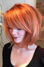 coupes coiffures avec frange