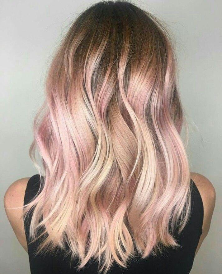 Les meilleures ides de balayage cheveux pour ce printemps 2018  Coiffure simple et facile