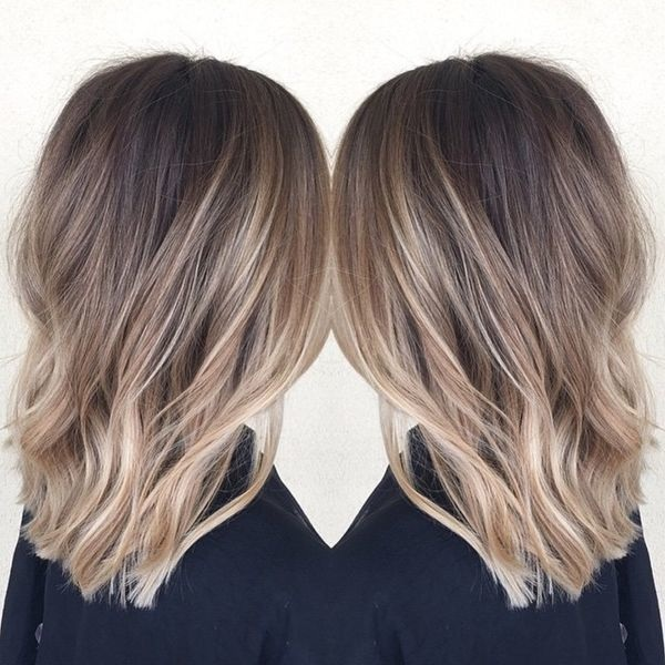 Cheveux milongs mchs  magnifiques modles cette anne  Coiffure simple et facile