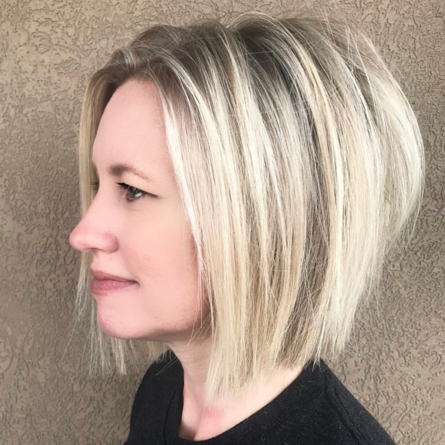 Coupes pour cheveux milongs tendance 2018  Coiffure simple et facile