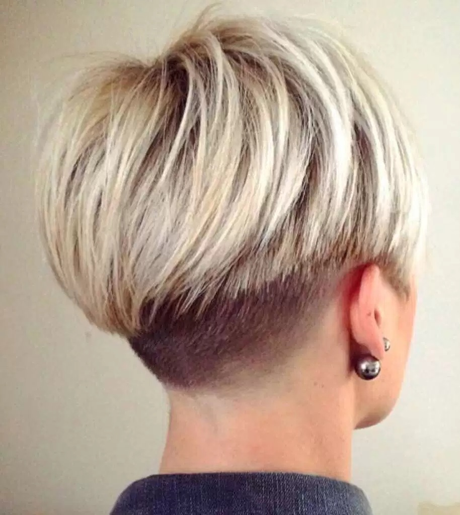 Haarschnitt Concave