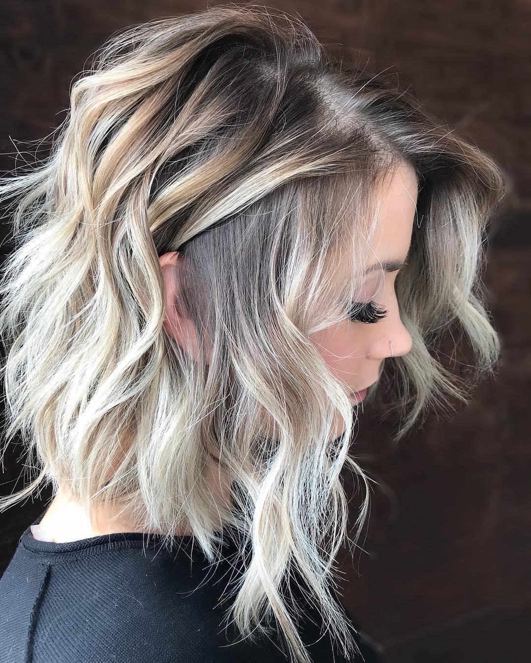 ide coupe cheveux mi long  Coiffure simple et facile