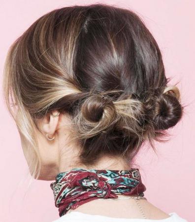 coiffure cheveux court attach  Coiffure simple et facile