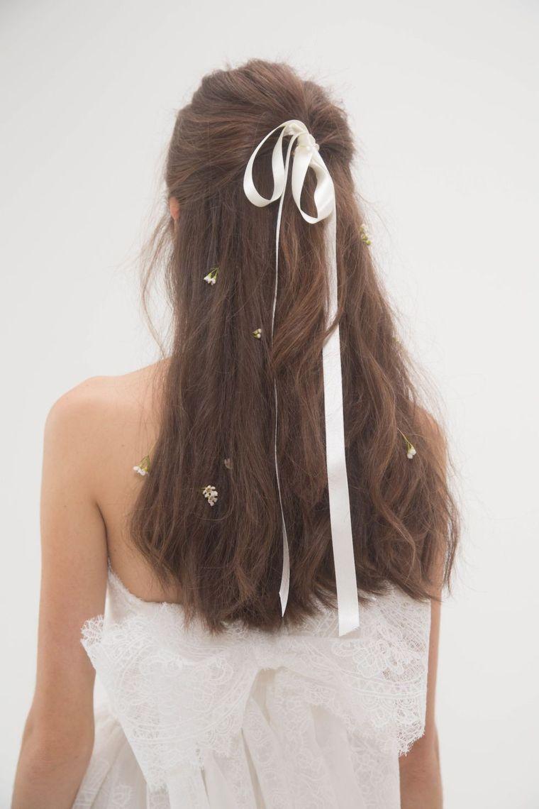 coiffure marie tendance 2018  Coiffure simple et facile