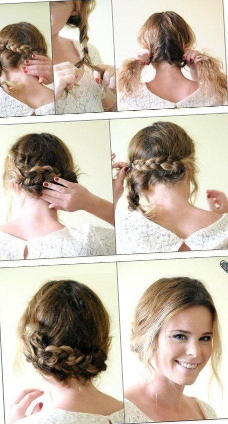 Coiffure Cheveux Long Simple Attaché
