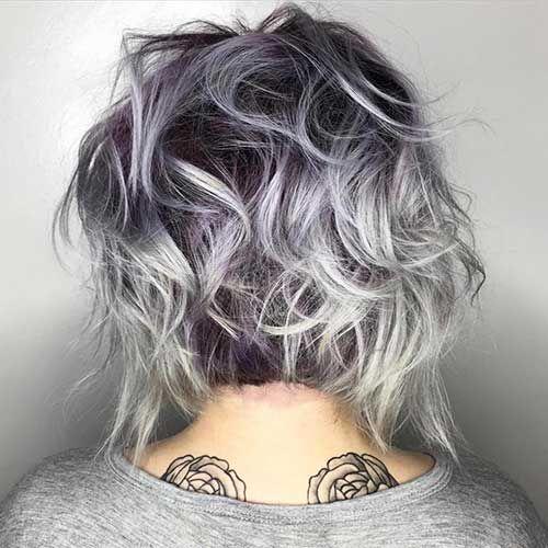 coupe de cheveux femme court  Coiffure simple et facile