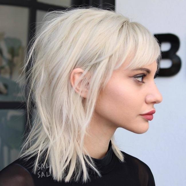Coiffure Cheveux Mi Longs 2018 2019 Coiffure Simple Et