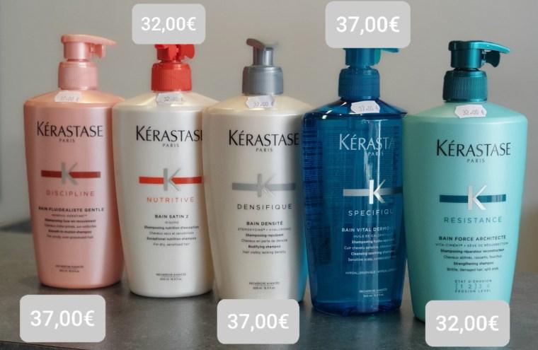 Promotion sur 5 bain pour cheveux, coloris et odeurs uniques, offres estivales Jolies Momes orleans, coiffure, salon de coiffure, produits vitrine salon Jolies Momes