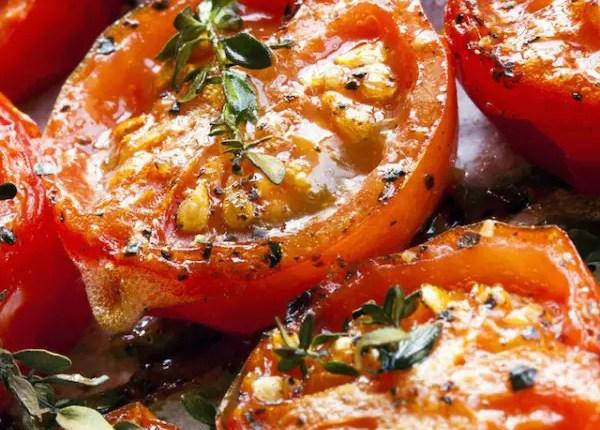 Recette de tomate confite