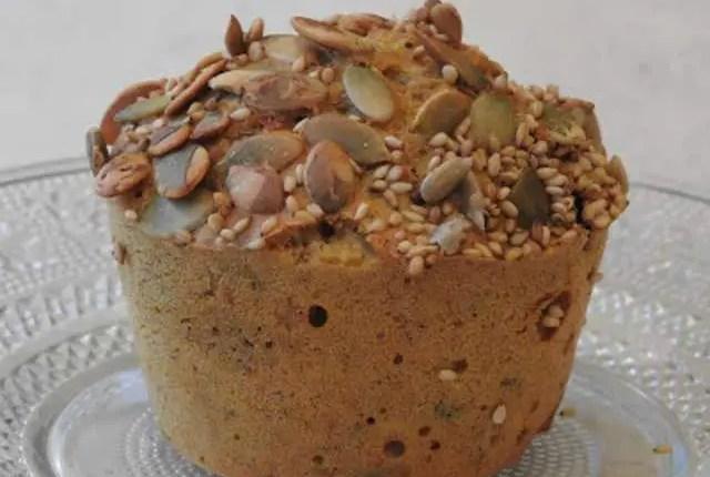 Muffins santé sans gluten à la citrouille bio
