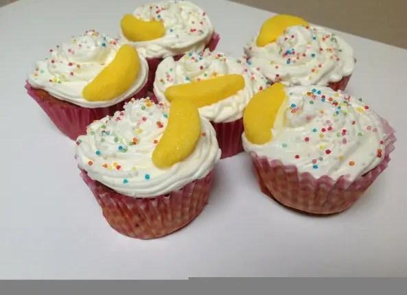 Cupcakes- kiwi - chantilly - banane