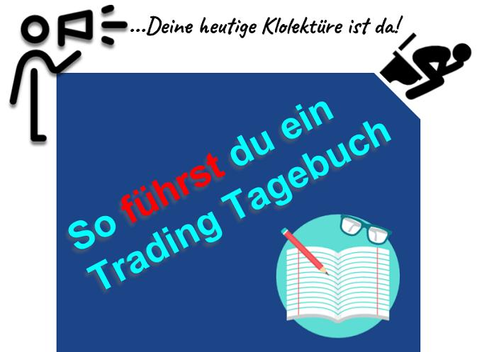 Ein Trading Tagebuch richtig führen (Profitipps)