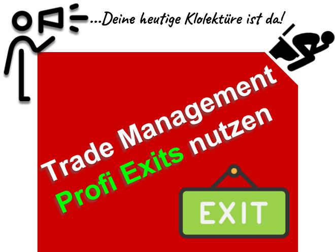 Cleveres Trade Management für Day Trader beim Trading an der Börse