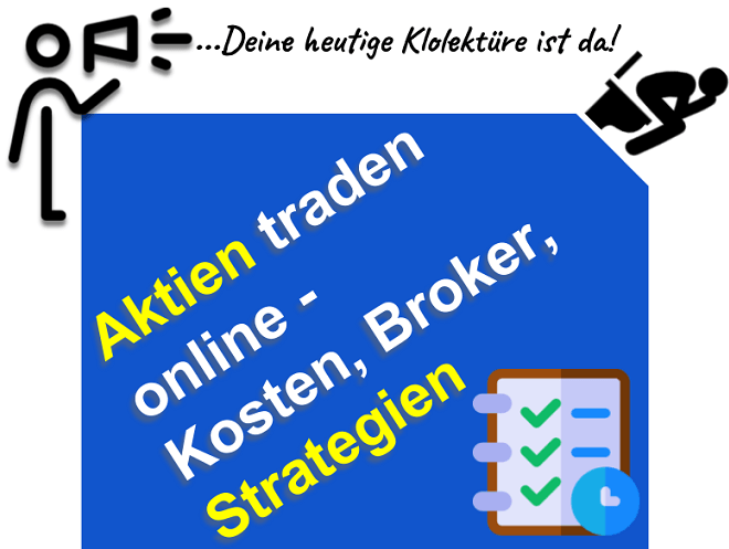 Aktien traden lernen - Broker-Kosten-Strategien
