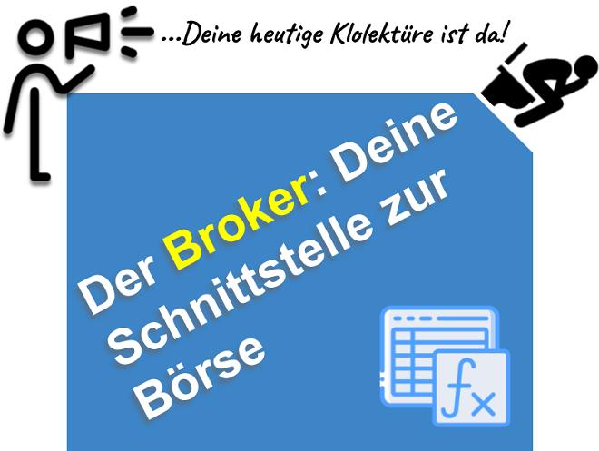 Forex und CFD Broker - Deine Schnittstelle zur Börse