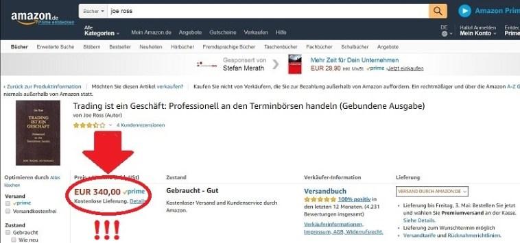 Joe Ross Trading Bücher kaufen bei Amazon - Trading ist ein Geschäft