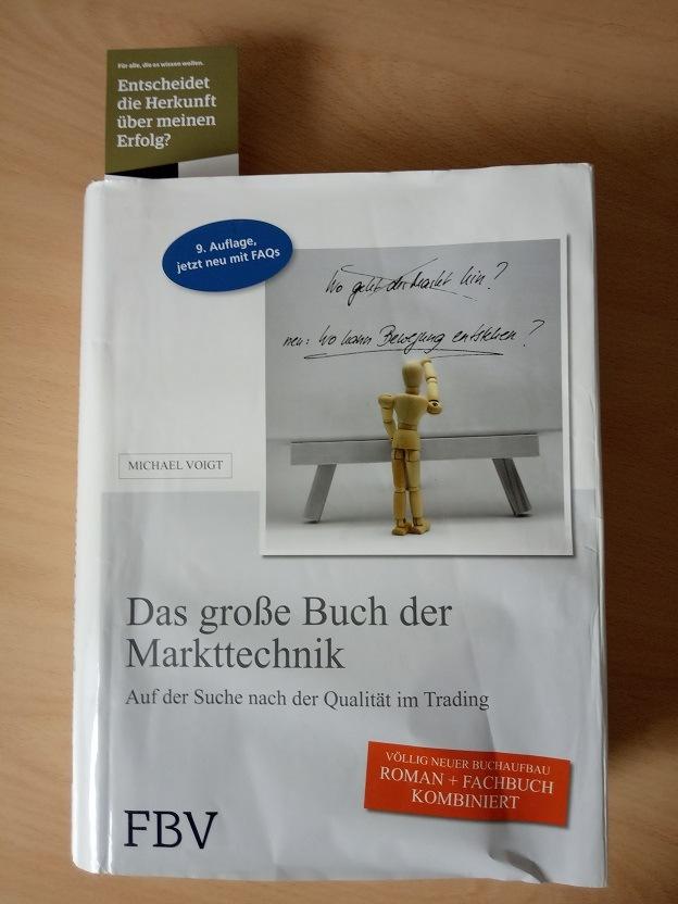Markttechnik Trading Strategie nach Michael Voigt - Das große Buch - Ein Klassiker für Trader vom Finanzbuch Verlag München