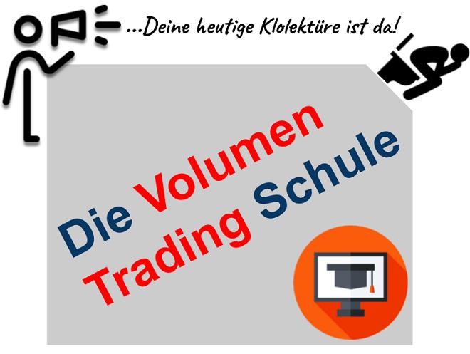 Volumen Trading lernen