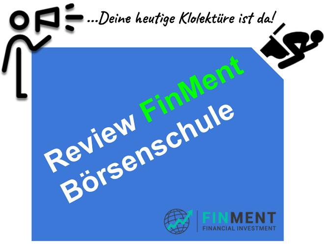 Finment Börsenschule Berlin Erfahrungen