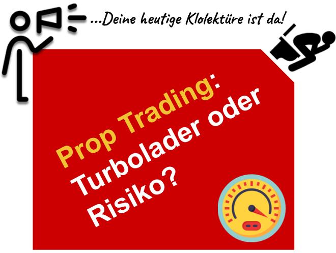 Prop Trading in Deutschland - Tipps und Infos zu Firmen Bewerbung und Steuern
