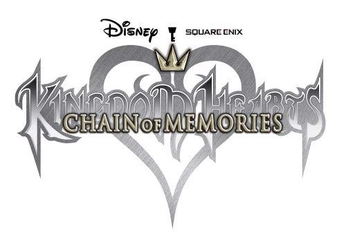 Kingdom Hearts Chain of Memories Logo