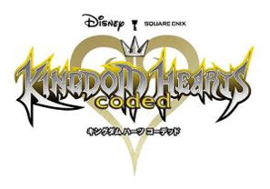 Kingdom Hearts Coded Logo