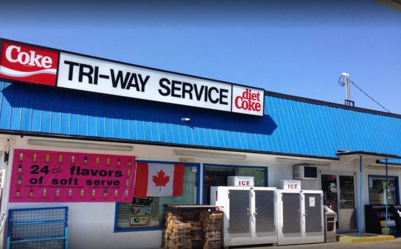 Cash out to your bank account instantly. Bitcoin ATM in Vernon - Tri-Way Food & Gas