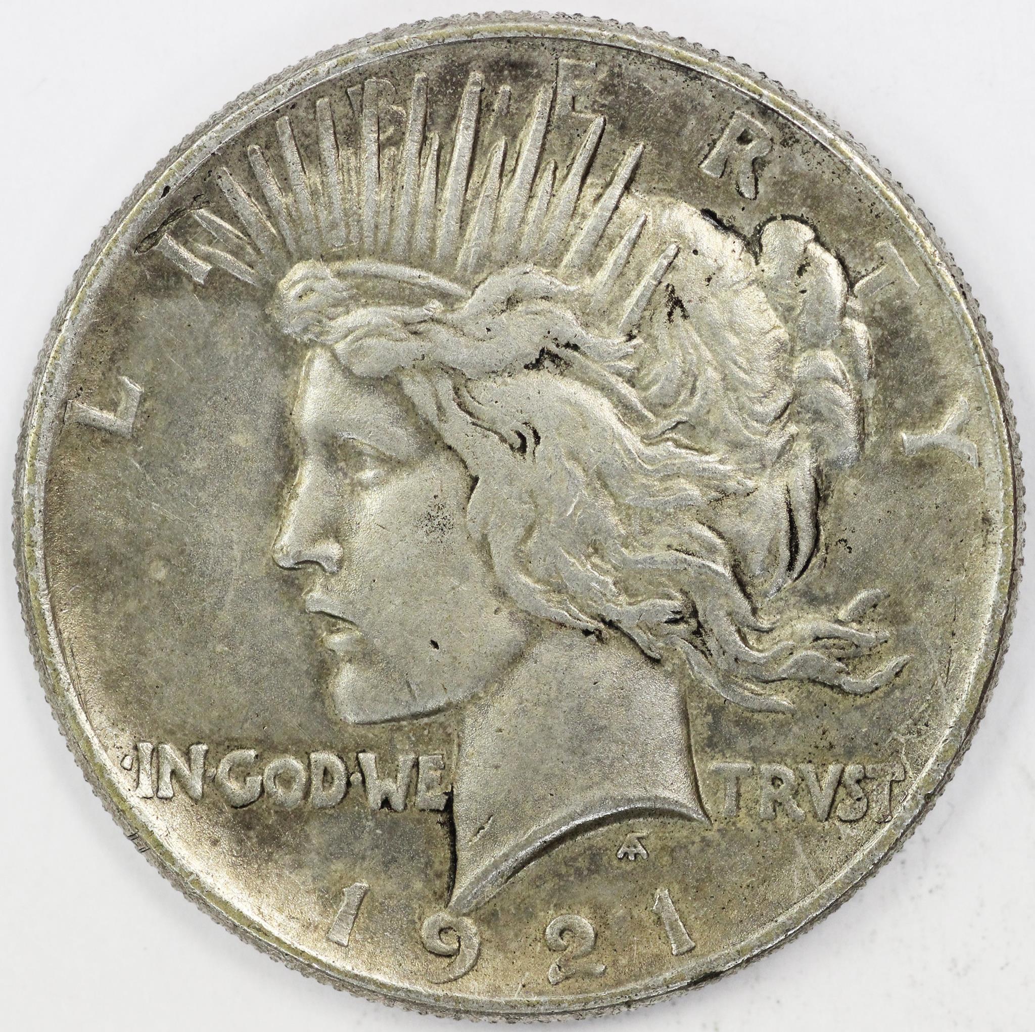 1921 Peace Dollar Proof