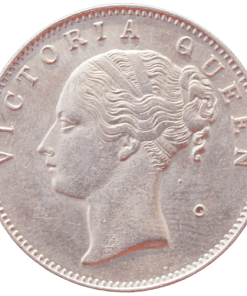 East India Company One Rupee 1840 Continuous Legend Victoria Queen
