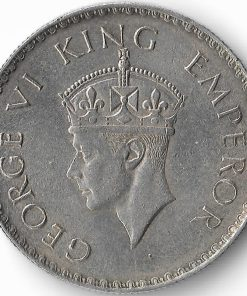 One Rupee 1938 George Vi - Full Silver Rare British India Coin - Must Collect