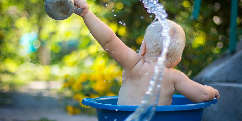 Le bain du nourrisson