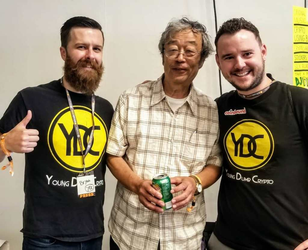 YoungDumbCrypto and Dorian Nakamoto