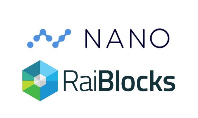 ナノ(Nano /NANO)2018年にライブロックス(RaiBlocks/XRB)から生まれ変わった仮想通貨