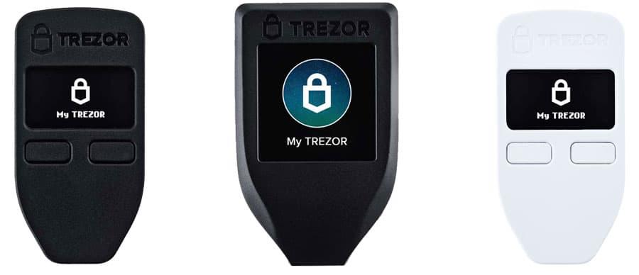 Trezor Models