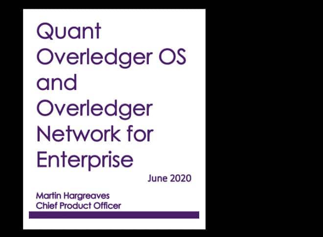 Overledger Enterprise Guide