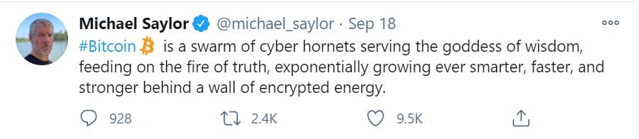 Michael Saylor Swarm Bitcoin