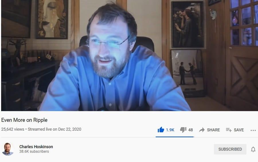 Charles Hoskinson YouTube